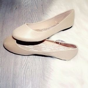 New Shoes Ballet Flats Gold Shoes Slip ons 11